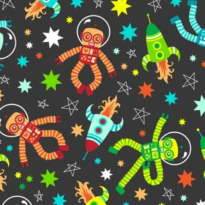 Robots in Space (grey)