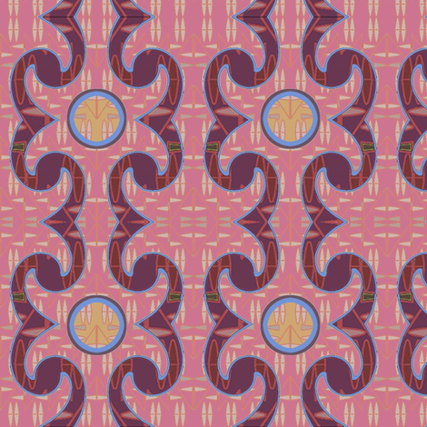 Tribal Renaissance fabric by david_kent_collections on Spoonflower - custom fabric