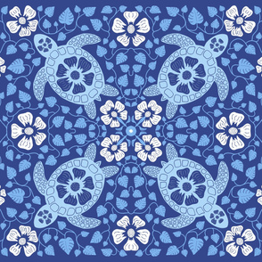 Rrhawaiian_quilt_v10a_white_flowers_on_turtle_rectangle_blues_on_dk_blue_v2.ai_shop_thumb