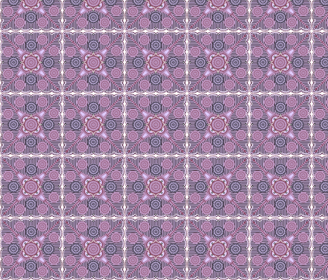 ©2011 Eiffel and Rose fabric by glimmericks on Spoonflower - custom fabric