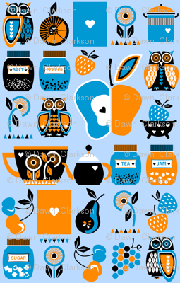 Owls_in_the_kitchen_blue