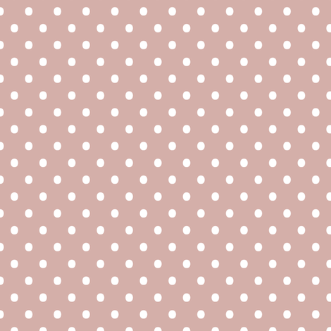 Spots - Dusty Pink fabric by kristopherk on Spoonflower - custom fabric