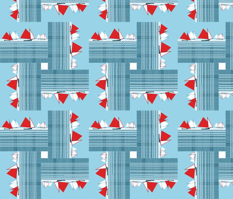 No sun sailing fabric by su_g on Spoonflower - custom fabric