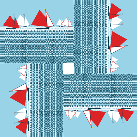 No sun sailing by Su_G fabric by su_g on Spoonflower - custom fabric