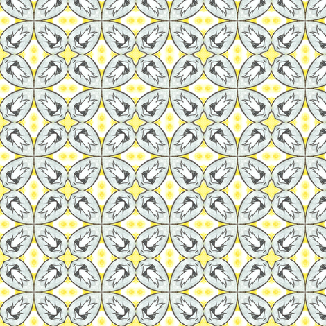 Waiteri's Tiles fabric by siya on Spoonflower - custom fabric