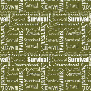 Name - Survival / Army Green