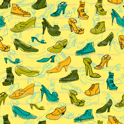 Yellow Shoe Obsession