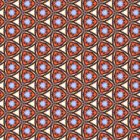 Spoony's Triangles fabric by siya on Spoonflower - custom fabric