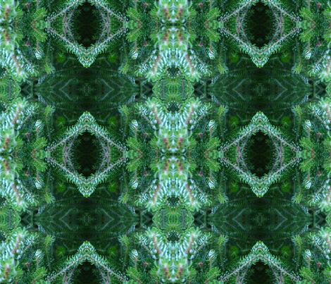 PIne I fabric by janied on Spoonflower - custom fabric