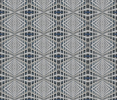 Urban Windows fabric by mbsmith on Spoonflower - custom fabric