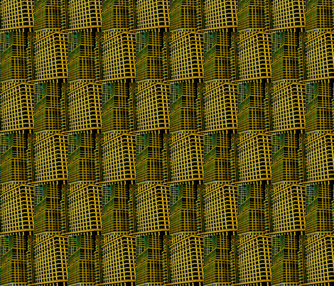Urban Checkerboard fabric by relative_of_otis on Spoonflower - custom fabric