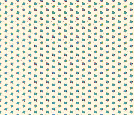 Geomatic fabric by bobbifox on Spoonflower - custom fabric
