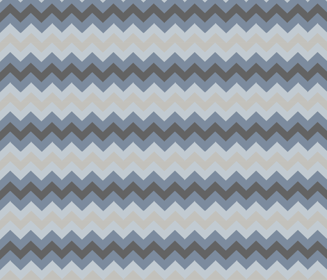 Ombre Chevron fabric by colie*leigh*designs on Spoonflower - custom fabric