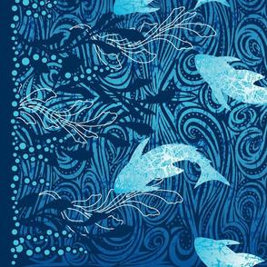Batik Shark Panel