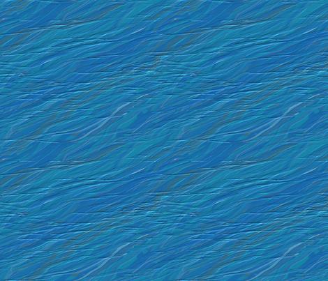 Shark Frenzy - 01 - Ocean fabric by creative8888 on Spoonflower - custom fabric