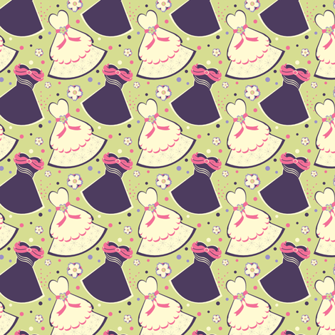 Walt's Waltz fabric by eppiepeppercorn on Spoonflower - custom fabric