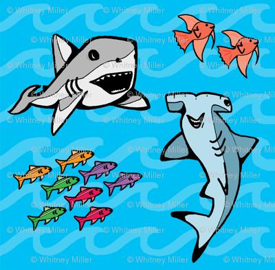 Happy Sharks!
