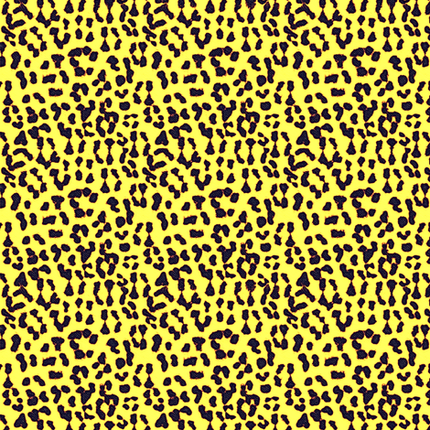 ©2011 Leopard - Spot o' Sunshine fabric by glimmericks on Spoonflower - custom fabric