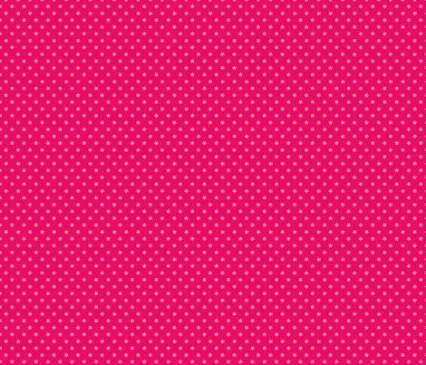 kokeshi blossoms fabric by littlebeehive on Spoonflower - custom fabric