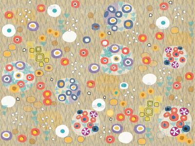After Klimt - Woman