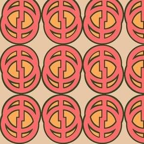 Comic Circle (Red)