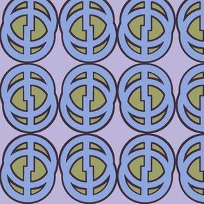Comic Circle (Blue)