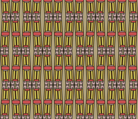 Dyed Bamboos fabric by david_kent_collections on Spoonflower - custom fabric