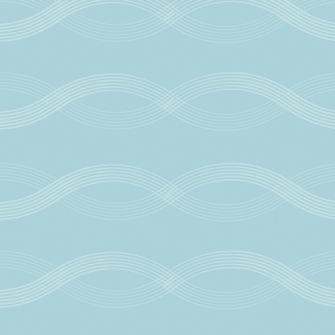 Wavy Waves fabric by jenimp on Spoonflower - custom fabric