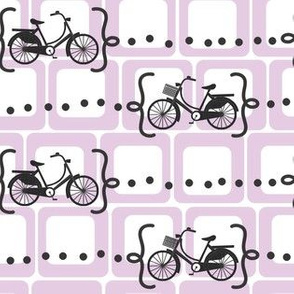 Ride a bike V2 in lilac