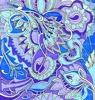 Milady's Hankie (blue)