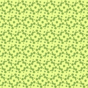 green and chartreuse tile