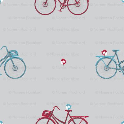 bikes and birds