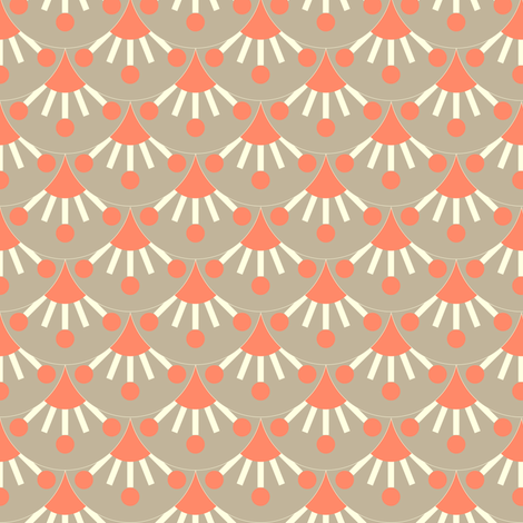 Scales - dove fabric by kayajoy on Spoonflower - custom fabric