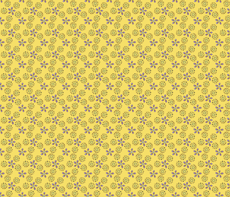 ©2011 BG_GLIMMERICKS_BUTTERVIOLET fabric by glimmericks on Spoonflower - custom fabric