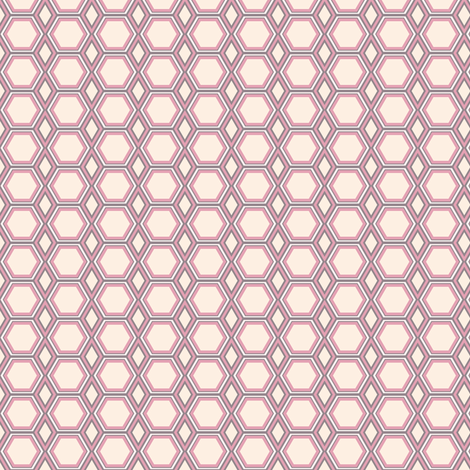 Soft Geometric fabric by kezia on Spoonflower - custom fabric