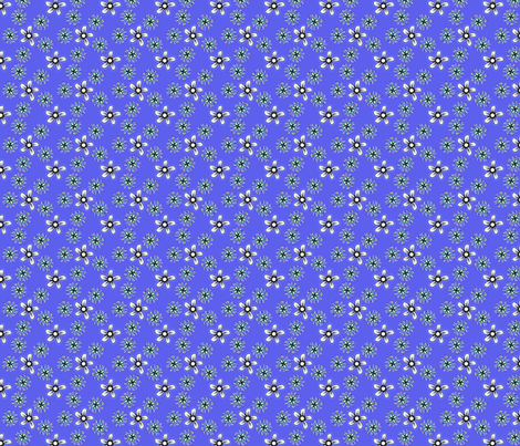 ©2011 BG_GLIMMERICKS_BLUE fabric by glimmericks on Spoonflower - custom fabric