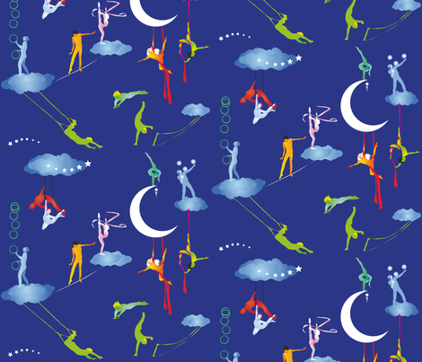 circus_dream fabric by johanna_design on Spoonflower - custom fabric