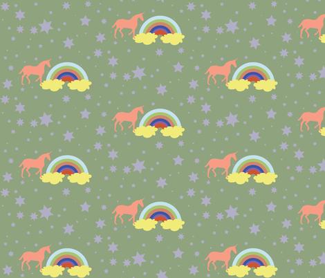 Unicorn 4 fabric by dolphinandcondor on Spoonflower - custom fabric
