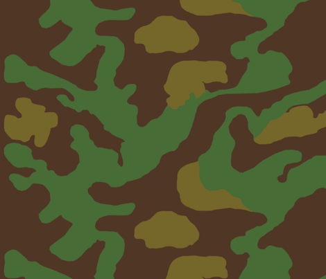 Italian 2nd Pattern Camo fabric by ricraynor on Spoonflower - custom fabric