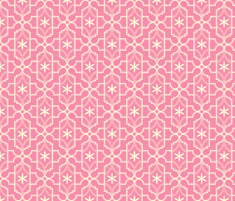 Pink Tie fabric by clairicegifford on Spoonflower - custom fabric