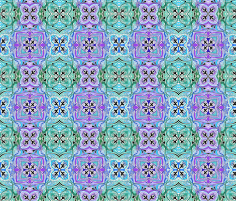 Four Square (pastel colors) small scale fabric by edsel2084 on Spoonflower - custom fabric