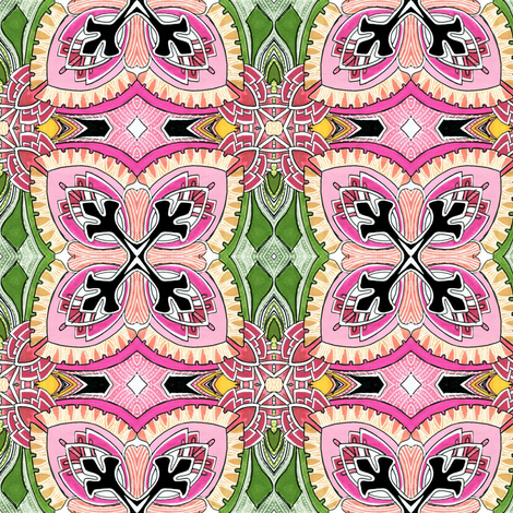 Square Two (spring colors) fabric by edsel2084 on Spoonflower - custom fabric