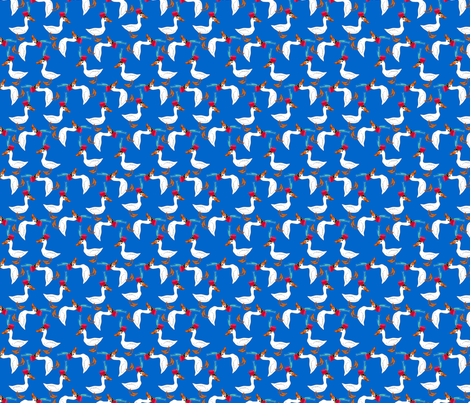 ©2011 Duck_Parade fabric by glimmericks on Spoonflower - custom fabric