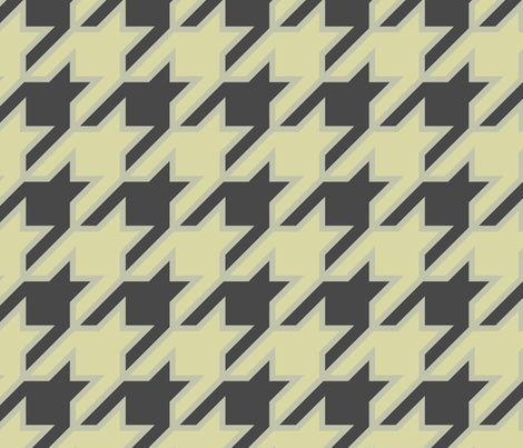 houndstooth large fabric by ravynka on Spoonflower - custom fabric