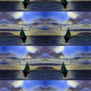 seagull_and_sail_in_the_seascape_painting_collage