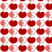 Red Apple Polka Dots