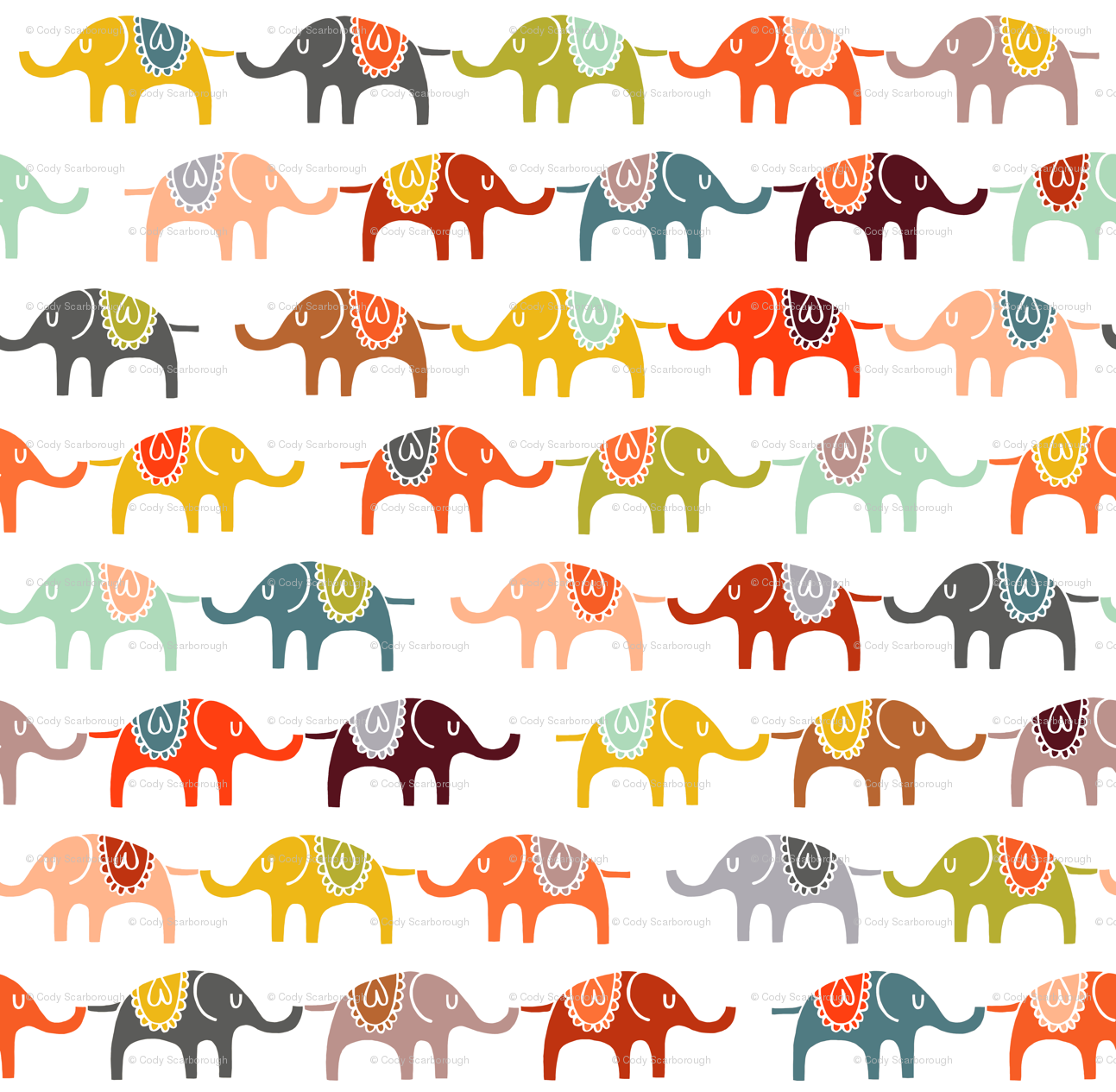 Trippy Elephant Backgrounds Elephant marchElephant Design Wallpaper