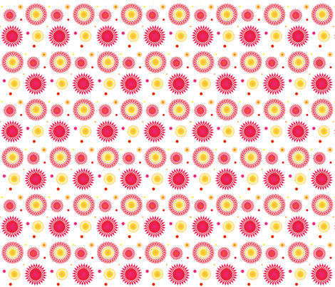Blister in the Sun fabric by wendyg on Spoonflower - custom fabric