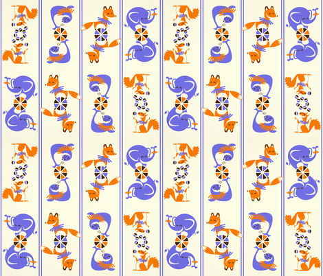 think_off_music_while_watching_this_please_____ fabric by leolietje on Spoonflower - custom fabric