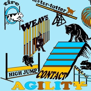AGILITY aqua background